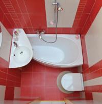 inspiration f r kleine b der ravak gesellschaft f r sanit rprodukte mbh. Black Bedroom Furniture Sets. Home Design Ideas
