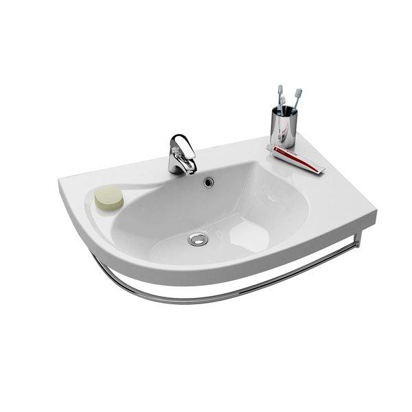 Waschbecken zeichnung  Waschbecken Rosa Comfort - RAVAK GESELLSCHAFT für Sanitärprodukte mbH