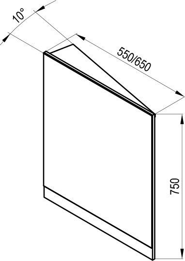 Eckspiegel 10° - RAVAK GESELLSCHAFT für Sanitärprodukte mbH
