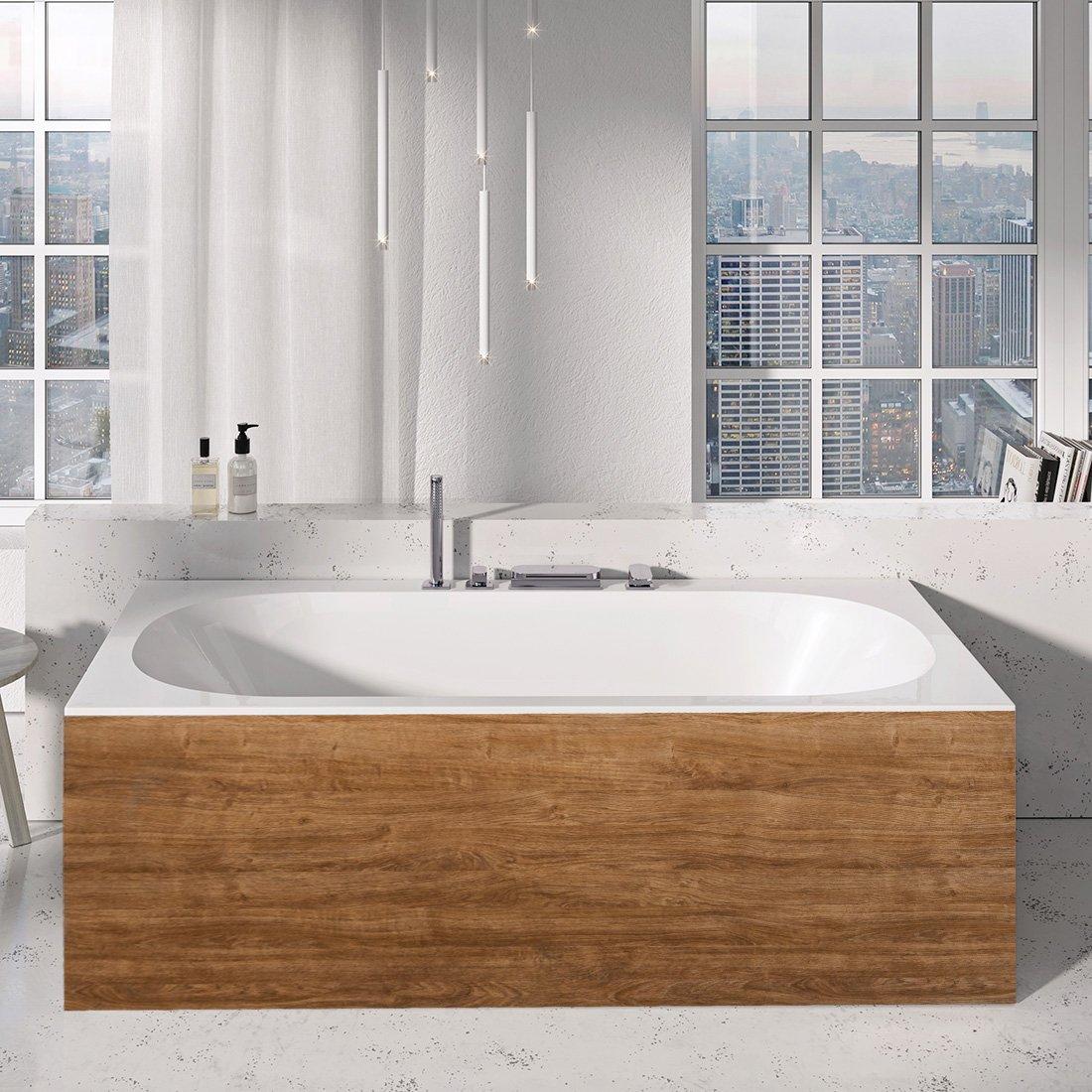 Fassungsvermögen Badewanne.Badewanne City City Slim Ravak Gesellschaft Für